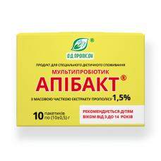 Мультипробіотик Апібакт 1.5% екстракту прополісу